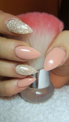 cool Nails with silver...