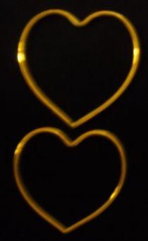 """Vijaya Sinha's creation """"HEART SHAPE BANGLES"""". Fashion Design. EmoTagged Love"""