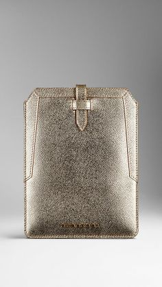 Metallic London Leather iPad Mini Case | Burberry
