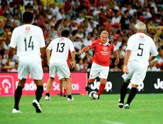Blog Esportivo do Suíço: Time de Zico vence Jogo das Estrelas marcado por homenagens à Chapecoense