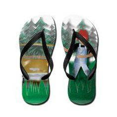 Flip Flops> Gone but not forgotten> Angelic Inspirations  J.L. Designs
