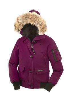 Berry Canada Goose Jacket
