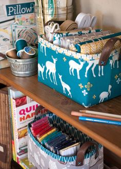 Sturdy Fabric Basket Tutorial by blogger: lillyella