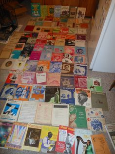 HUGE LOT 100+ Vintage Piano Organ Sheet Music Solos Song Books Classical Theory | eBay