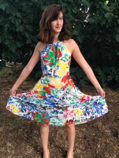 A personal favorite from my Etsy shop https://www.etsy.com/il-en/listing/253305330/sale-dresssummer-dress-dresswomen