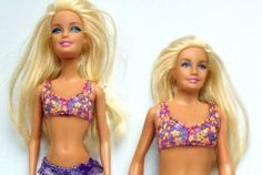Average Barbie proves to be extraordinary Average is based on 19 year old girls