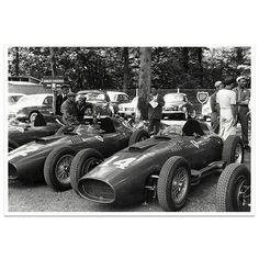 Formula One, Grand Prix, Ferrari, Antique Cars, Photograph, David, Racing, French, History