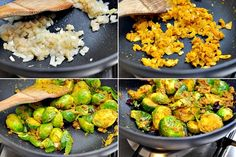 Indian Spiced Brussels Sprouts - Fuss Free Cooking