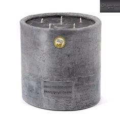 Świeca zapachowa w kamieniu... Ponad 250 godzin pięknego aromatu i kojacego płomienia...