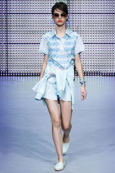 Holly Fulton Spring 2013 Ready-to-Wear Collection Slideshow on Style.com