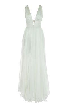 Maria Lucia Hohan  Leilani Metallic Cutout Dress