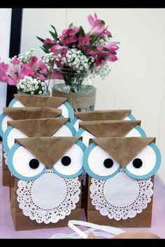 Owl goody bags