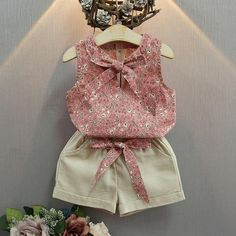 Baby Outfits, Kids Outfits, Girls Fashion Clothes, Girl Fashion, Fashion Outfits, Girl Clothing, Style Fashion, Fashion Shorts, Fashion 2014