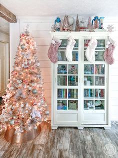 How to Decorate a Rose Gold Christmas Tree - Happily Ever After, Etc.