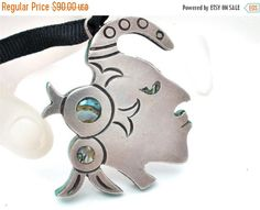 SALE Sterling Silver Warrior Necklace by TheJewelryLadysStore