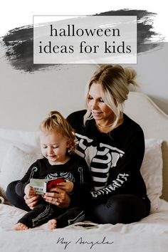 It's often hard to find kid-friendly Halloween ideas, books, movies, etc. and so I've done an entire blogpost with ideas for you! This year might look a bit different, but we can still celebrate and decorate for Halloween! #byangela #halloween #halloweenforkids #halloweendecor #halloweenbooks #halloweenmovies Halloween Movies, Halloween Kids, Halloween Decorations, Activities For Kids, Christmas Sweaters, T Shirts For Women, Celebrities, Fun, Ideas