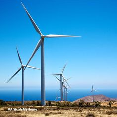 #DidYouKnow: $29.9bn has been invested in renewable energy projects in Africa in the last five years. Renewable Energy Projects, Go Green, Wind Turbine, Africa