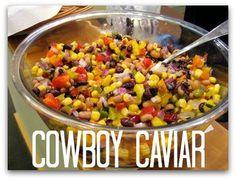 Camping Recipes: Cowboy Caviar   http://www.everintransit.com/cowboy-caviar-recipe/