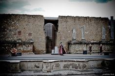 Obra de teatro realizada en el teatro de Italica, la obra es Epidico