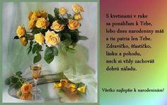 <<K narodeninám>> Glass Vase, Home Decor, Decoration Home, Room Decor, Home Interior Design, Home Decoration, Interior Design