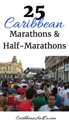 Running is a great way to maintain ones fitness. However, it can become quite monotonous. So to maintain your fitness motivation, consider training for and traveling to the Caribbean to take part in one of these 25 Caribbean marathons or half-marathons. It's a great way to see a lot of a Caribbean destination in a short period of time. Also after completing, you can continue your vacation by relaxing and recuperating at the beach and taking dips in the therapeutic waters of the Caribbean…