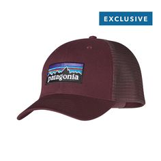 Patagonia Trucker Hat P-6 - The Trucker Hat P-6 has an organic 1e09d76b454