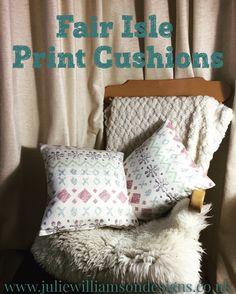 #cushions #handmade #handdrawn #shetland #inspiredbyshetland #interiors #home