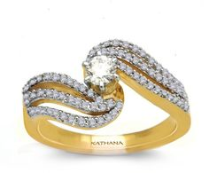 You can explore the best engagement rings with Kathana.