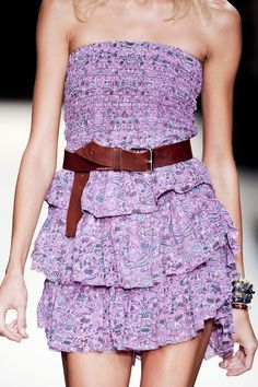 Isabel Marant Spring 2011 - Details