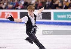 Deniss Vasiljevs of Latvia competes during Day 3 of the ISU World Figure Skating Championships 2016 at TD Garden on March 30, 2016 in Boston, Massachusetts.