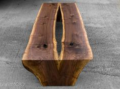 IN STOCK READY to ship Live Edge Walnut Coffee Table In Stock
