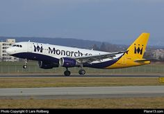 G-OZBK - Monarch Airlines - Airbus A320-214