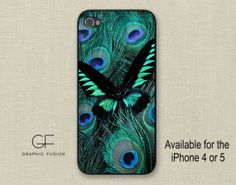 Choice of iphone 5 5s or 4 4s 5c case    Peacock by GraphicFusion, $16.00