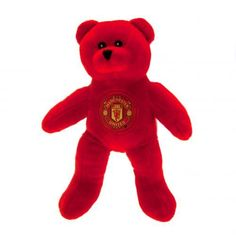Plush Manchester United teddy bear in club colours and featured the club crest on the front. Soft to touch with stitched features. FREE DELIVERY on all of our football gifts Manchester United Merchandise, Manchester United Gifts, Sports Gifts, Newborn Gifts, Plush, Teddy Bear, The Unit, Uk Football, Free Delivery
