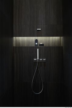 :: DETAILS :: Photo Credit: Unkown. #bathroom #Armani Hotel Dubai. #niche detail with concealed lighting