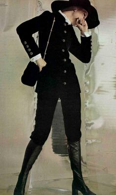 1967 Yves Saint Laurent ensemble.