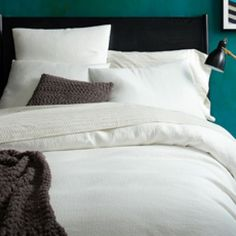 Organic Brighton Matelasse Duvet Cover + Shams | west elm - Twin Duvet - $149 (less 20% is $119.20)