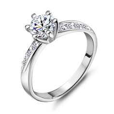 Find More Rings Information about Wedding Rings For Women CZ Diamond 2015 New Style 925 Sterling Silver Jewelry High Quality Wholesale Beauty Gift Uaib J048,High Quality ring theme,China ring blackberry Suppliers, Cheap ring sex from ULOVE No.2 Fashion Jewelry Store  on Aliexpress.com