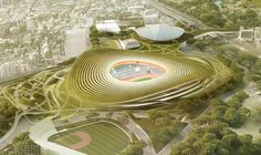 Finalists announced for Japan's New National Stadium  (11)