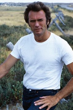 American Actor Clint Eastwood   <3