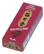 Morning Star Incense - Rose Incense 200 Stick Box. You beautiful thing. I must own a box of this again.