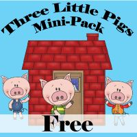 {FREE} – Three Little Pigs Mini-Activity Pack | Homeschool Giveaways