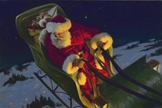 'A Sleigh Full of Toys' by Tom Browning