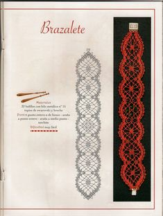 Online shopping from a great selection at Arts, Crafts & Sewing Store. Hairpin Lace Crochet, Crochet Motif, Jewelry Patterns, Bracelet Patterns, Bobbin Lacemaking, Bobbin Lace Patterns, Lace Bracelet, Lace Jewelry, Lace Doilies