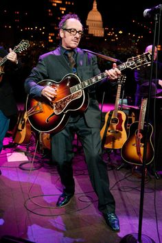 """Songwriting genius Elvis Costello showcases songs from his Americana-influenced record, """"Secret, Profane and Sugarcane"""" on """"Austin City Limits."""" #AETN #BeMore #ElvisCostello"""