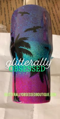 Welcome to Glitterally Obsessed! Diy Resin Art, Diy Resin Crafts, Vinyl Tumblers, Custom Tumblers, Quotes Glitter, Glitter Cups, Glitter Tumblers, Tumbler Boys, Coffee Cup Crafts