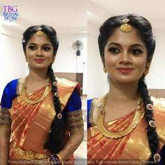 Kerala Wedding Photography, Pink Saree, Blouse Designs, Nice Dresses, Sari, Indian, Hair Styles, Beauty, Brides