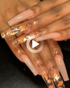 In seek out some nail designs and some ideas for your nails? Listed here is our listing of must-try coffin acrylic nails for modern women. Aycrlic Nails, Glam Nails, Classy Nails, Trendy Nails, Coffin Nails, Square Acrylic Nails, Fall Acrylic Nails, Acrylic Nail Designs, Clear Acrylic