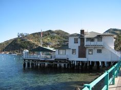 The Tuna Club created in 1898.  By the original owners of Catalina, the Banning brothers.