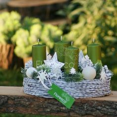 Advent, Christmas Decorations, Table Decorations, Door Wreaths, Tea Lights, Joy, Candles, Home Decor, Decoration Home